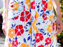 Flower Power Wrap Skirt